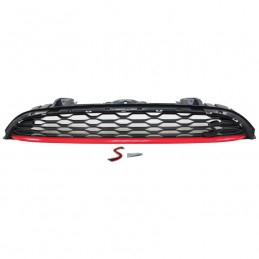 FRONT GRILLE RED MOULDING +...